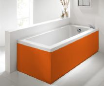 Luxury Orange 2 Peice Adjustable Bath Panel Set